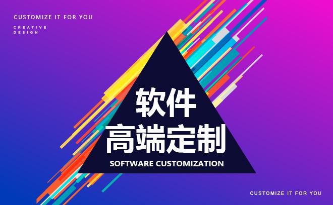 软件定制开发---应用系统开发